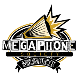 Megaphone Society Member badge